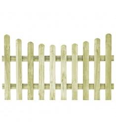 Πόρτα Φράχτη 170 x 100 εκ. από Εμποτισμένο Ξύλο Πεύκου FSC   45165
