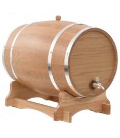Βαρέλι Κρασιού 35 Λίτρων από Μασίφ Ξύλο Δρυός με Κάνουλα   50679