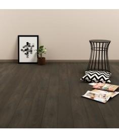 Δάπεδο Αυτοκόλλητο Σκούρο Καφέ 4,46 μ² από PVC  143875