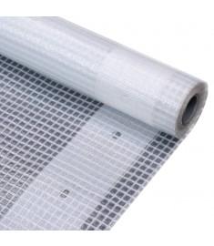 Μουσαμάς με Ύφανση Leno Λευκός 4 x 4 μ. 260 γρ./μ²   45561
