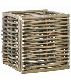 Ζαρντινιέρα Υπερυψωμένη 40 x 40 x 40 εκ. από Ξύλο Φουντουκιάς  45368