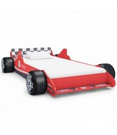 Κρεβάτι Παιδικό Αγωνιστικό Αυτοκίνητο Κόκκινο 90 x 200 εκ.  245660