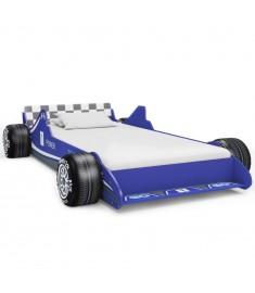Κρεβάτι Παιδικό Αγωνιστικό Αυτοκίνητο Μπλε 90 x 200 εκ.   245661