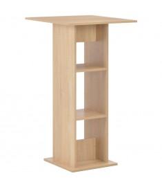 Τραπέζι Μπαρ Χρώμα Δρυός 60 x 60 x 110 εκ.  280207