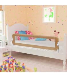 Μπάρα Κρεβατιού Προστατευτική Χρώμα Taupe 150x42 εκ Πολυεστέρας  10165