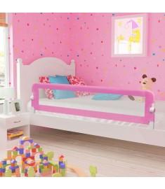 Μπάρα Κρεβατιού Προστατευτική Ροζ 180 x 42 εκ. από Πολυεστέρα  10171