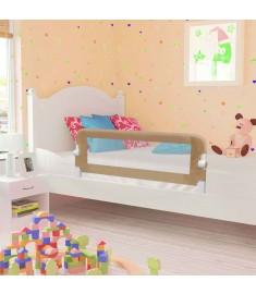 Μπάρα Κρεβατιού Προστατευτική Χρώμα Taupe 120x42 εκ Πολυεστέρας  10174