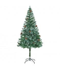 Χριστουγεννιάτικο Δέντρο Τεχνητό Χιονισμένο+Κουκουνάρια 180 εκ.  60178