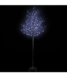 Διακοσμητικό φωτιζόμενο δεντράκι με 108 LED μπλε φωτισμού  60362