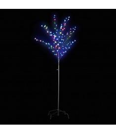 Δεντράκι Φωτιζόμενο με Πολύχρωμα LED που Αναβοσβήνουν 180 εκ.  60364