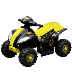 Ηλεκτροκίνητο 4τροχο ATV Γουρούνα Κίτρινο-Μαύρο  80052