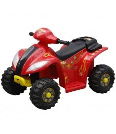 Ηλεκτροκίνητο 4τροχο ATV Γουρούνα Κόκκινο-Μαύρο  80053
