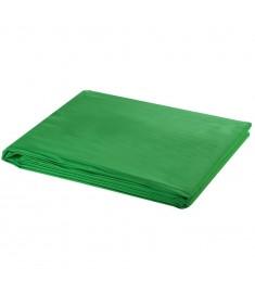 Φωτογραφικό Φόντο Πράσινο 500x300 εκ. Βαμβάκι Υπέρθεση Εικόνας  190005