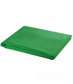 Φωτογραφικό Φόντο Πράσινο 600x300 εκ. Βαμβάκι Υπέρθεση Εικόνας  190008
