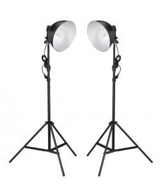 Φωτιστικά Στούντιο με Διαθλαστήρα και Τρίποδα 24 Watt  190020