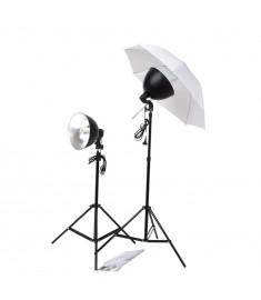 Σετ Φωτισμού Στούντιο: Ομπρέλες, Καπέλα Φωτιστικών & Τρίποδα   190042
