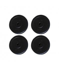 Δίσκοι για Βάρη  Σετ 4 τμχ x 5kg  90317
