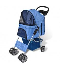Καρότσι Μεταφοράς Σκύλων Μπλε   170056