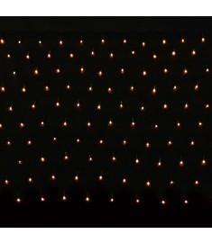 200 χριστουγεννιάτικα λαμπάκια LED με δίχτυ 3,2 x 1,5 m  240031