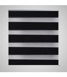 Σύστημα Σκίασης Ρόλερ Zebra Μαύρο 50 x 100 εκ.
