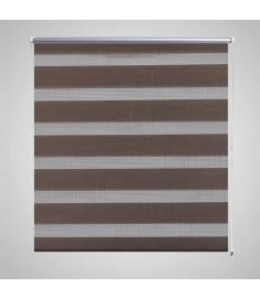 Σύστημα Σκίασης Ρόλερ Zebra Καφέ 60 x 120 εκ.