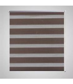Σύστημα Σκίασης Ρόλερ Zebra Καφέ 100 x 175 εκ.   240213