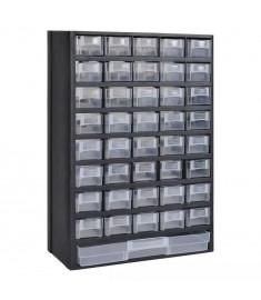 Πλαστικό Κουτί Αποθήκευσης Εργαλείων με Συρτάρια  140305