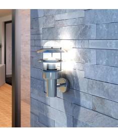 Φωτιστικό Τοίχου για Αίθριο από Ανοξείδωτο Ατσάλι με LED  40703