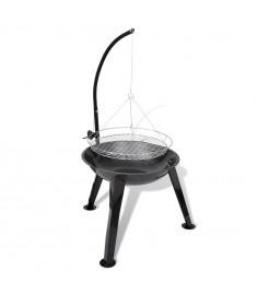 Ψησταριά για κάρβουνα BBQ Κυκλική Κρεμαστή  40715