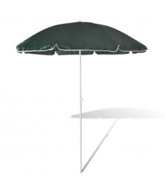 Ομπρέλα παραλίας 180 cm σε πράσινο χρώμα