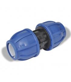 Ταχυσύνδεσμος πολυαιθυλενίου ευθύς 16 bar 20mm 2τμχ