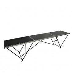 Τραπέζι για Κόλληση Ταπετσαρίας 300x60x78 εκ. από MDF/Αλουμίνιο  140718