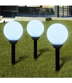 Ηλιακοί γλόμποι 20cm για διαδρόμους κήπου  40864
