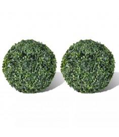 Θάμνος πυξάρι σε σχήμα μπάλας με τεχνητά φύλλα  40871