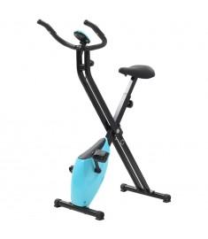 Ποδήλατο Γυμναστικής X-Bike Μαγνητικό Μαύρο/Μπλε Μέτρηση Παλμών   90482