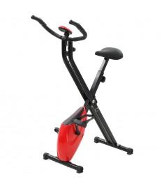 Ποδήλατο Γυμναστικής X-Bike Μαγνητικό Μαύρο/Κόκκινο Μέτρ.Παλμών  90483