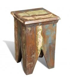 Σκαμπό Αντικέ από Ανακυκλωμένο Ξύλο   240951