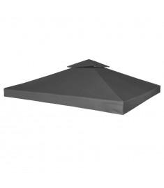 Κάλυμμα Ανταλλακτικό για Κιόσκι 310 γρ./μ² Σκούρο Γκρι 3 x 3 μ.  40878