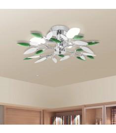 Φωτιστικό οροφής με βραχίονες σε σχήμα φύλλου ακρυλλικό κρύσταλλο  240982