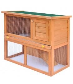 Κλουβί Κουνελιών/Σπίτι Μικρών Ζώων Εξωτ. Χώρου 1 Πόρτα Ξύλινο     170158