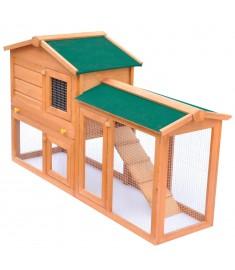 Κλουβί Κουνελιών / Σπίτι Μικρών Ζώων Εξωτερικού Χώρου Ξύλινο    170162