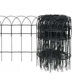Μπορντούρα Κήπου 10x0,4 μ. Σίδηρος με Ηλεκτρ/τική Βαφή Πούδρας   141071
