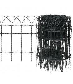 Μπορντούρα Κήπου 25x0,4 μ. Σίδηρος με Ηλεκτρ/τική Βαφή Πούδρας  141072