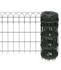 Μπορντούρα Κήπου 10x0,65 μ. Σίδηρος με Ηλεκτρ/τική Βαφή Πούδρας   141073