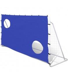 Τέρμα Ποδοσφαίρου με Στόχους 240 x 92 x 150 εκ. από Ατσάλι  90573