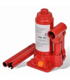 Υδραυλικός Γρύλος Μπουκάλας 2 Τόνων Κόκκινος για Ανύψωση Οχημάτων   210256