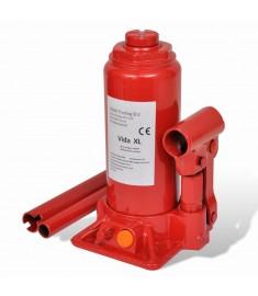 Υδραυλικός Γρύλος Μπουκάλας 5 Τόνων Κόκκινος για Ανύψωση Οχημάτων   210257