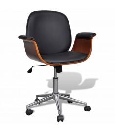 Καρέκλα γραφείου Περιστρεφόμενη Συνθετικό δέρμα Ρυθμιζόμενη  241057