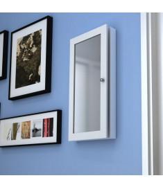 Ντουλάπι Τοίχου / Κοσμηματοθήκη με Καθρέπτη Ξύλινο   241099