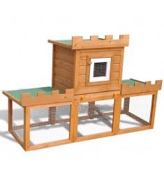 Κλουβί Κουνελιών/Σπίτι Μικρών Ζώων Εξωτερικού Χώρου με 1 Σπίτι  170173
